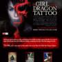 Movie promo landing page design