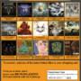 CD Metal Sampler Landing page design