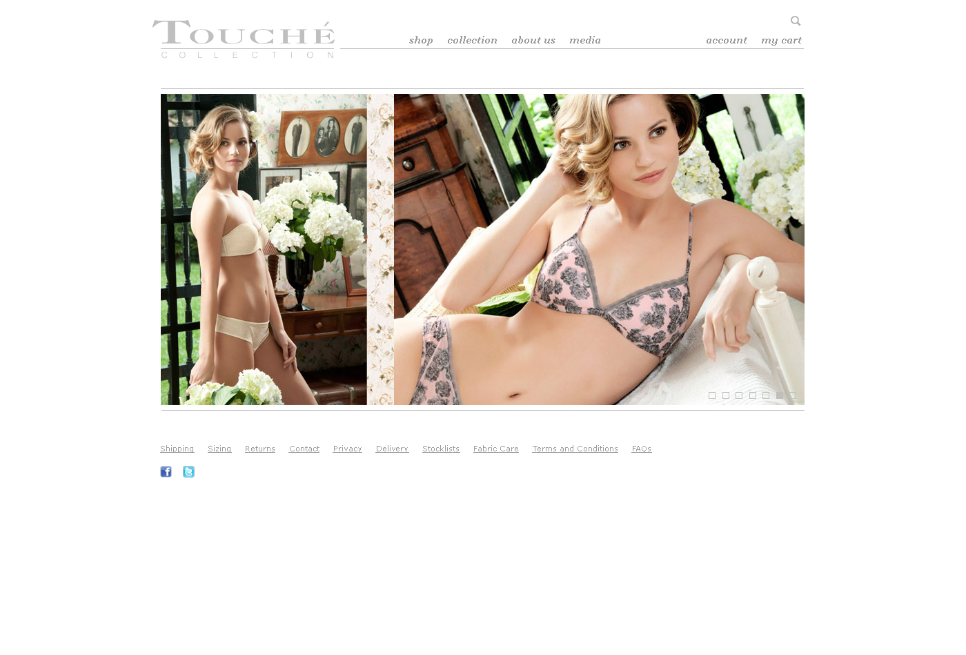 Fashion web design - Prestashop template